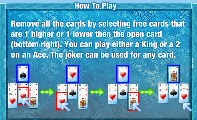 Snowy Solitaire Rules